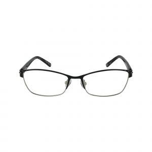 Arcadia Black Glasses - Front View