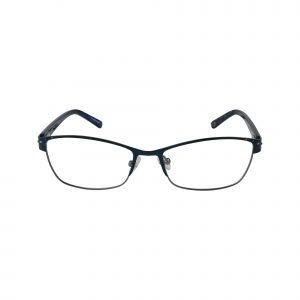 Arcadia Blue Glasses - Front View