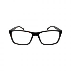 312 Brown Glasses - Front View