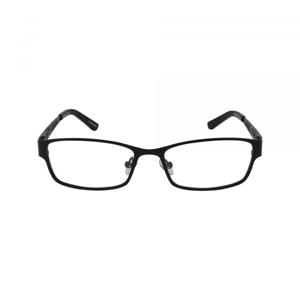 Sonya Black Glasses - Front View