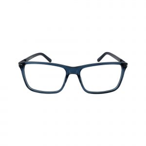 318 Blue Glasses - Front View