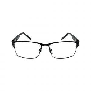L846 Black Glasses - Front View