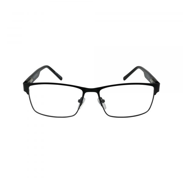 L846 Black Glasses - Front View
