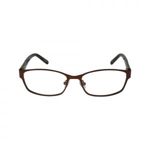 Wood Rose Brown Glasses - Front View