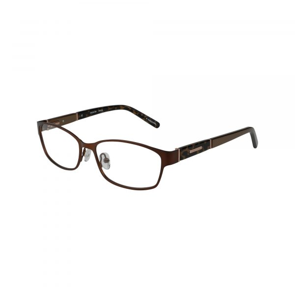 Wood Rose Brown Glasses - Side View