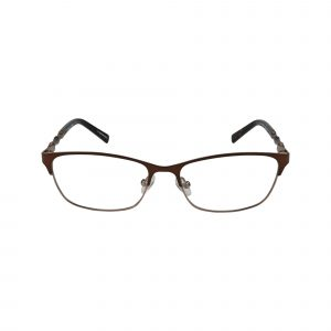 Coconut Brown Glasses - Front View