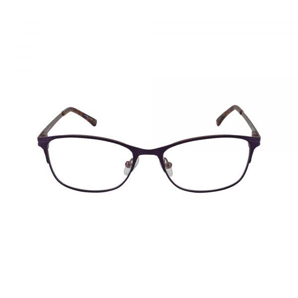 Petites Parodia Purple Glasses - Front View