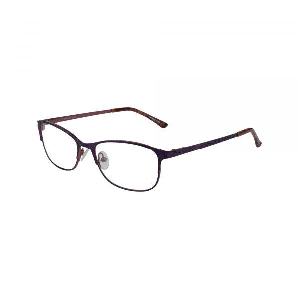 Petites Parodia Purple Glasses - Side View