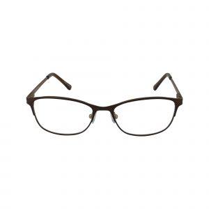 Petites Parodia Brown Glasses - Front View