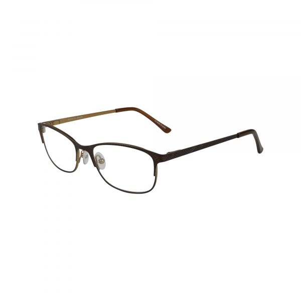 Petites Parodia Brown Glasses - Side View