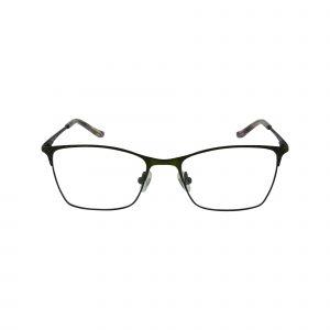 Petites Sweet Orange Green Glasses - Front View