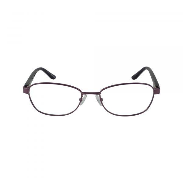 Petites Cajun Purple Glasses - Front View