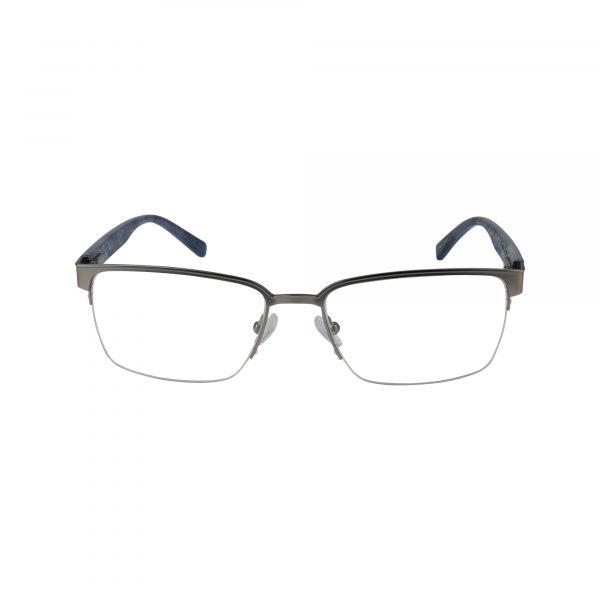 H165 Gunmetal Glasses - Front View