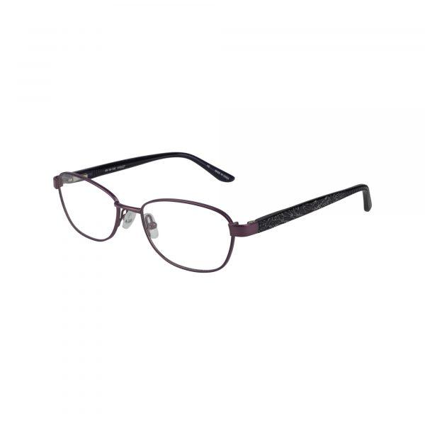 Petites Cajun Purple Glasses - Side View