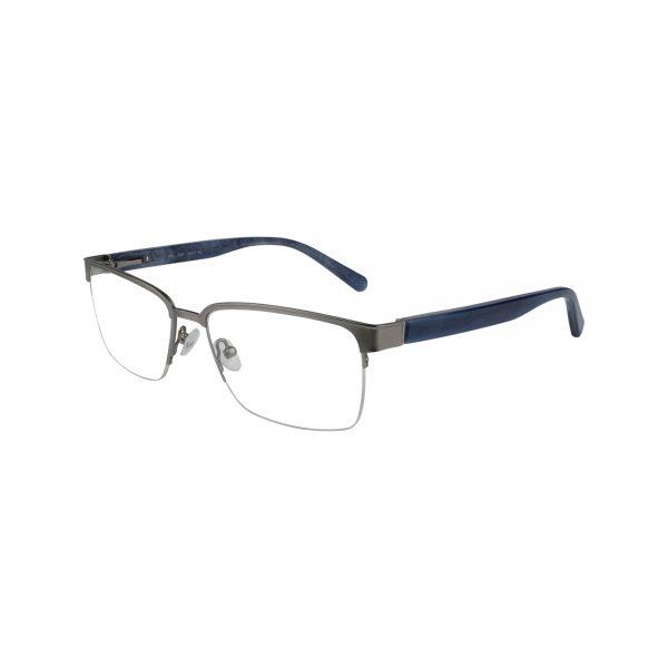 H165 Gunmetal Glasses - Side View