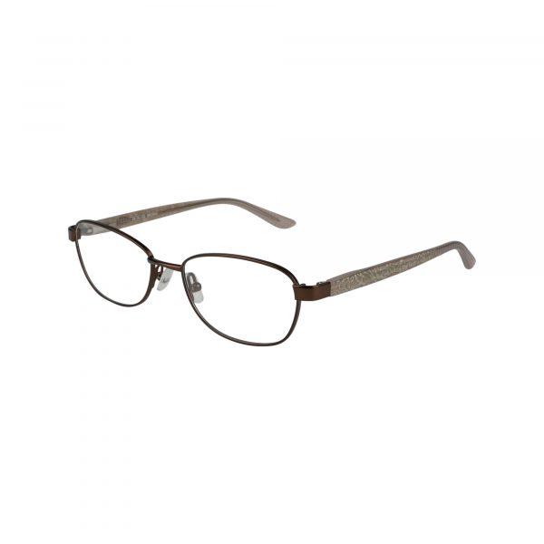 Petites Cajun Brown Glasses - Side View