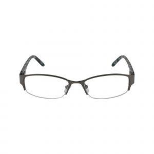 Petites Oleander Gunmetal Glasses - Front View