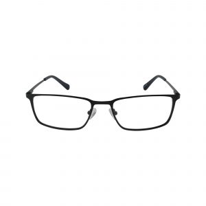 H147 Black Glasses - Front View