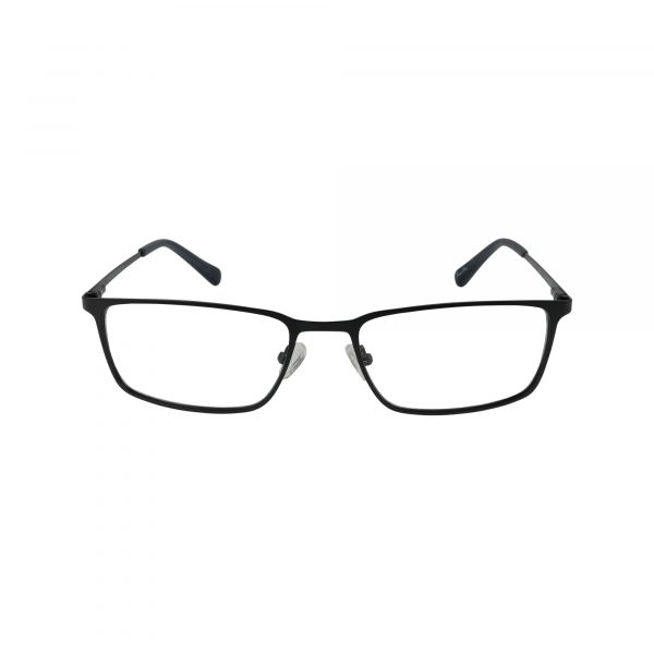 H147 Black Glasses - Front View