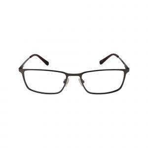 H147 Gunmetal Glasses - Front View