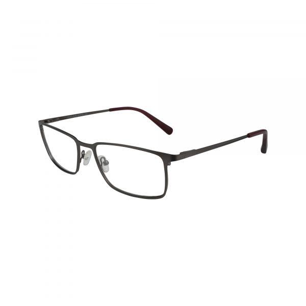 H147 Gunmetal Glasses - Side View