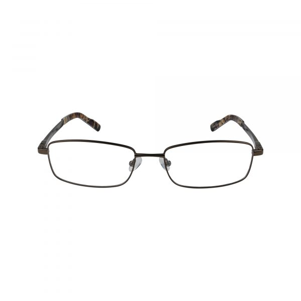R443 Brown Glasses - Front View