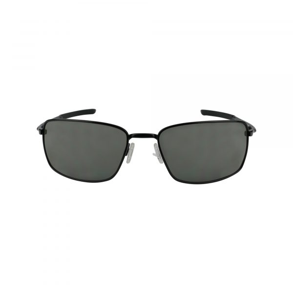 Square Wire 407513 Black Glasses - Front View