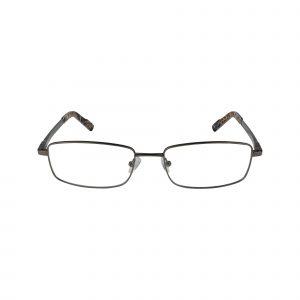 R443 Gunmetal Glasses - Front View