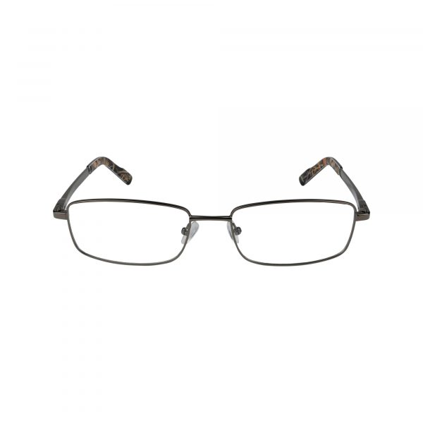 R443 Gunmetal Glasses - Front View