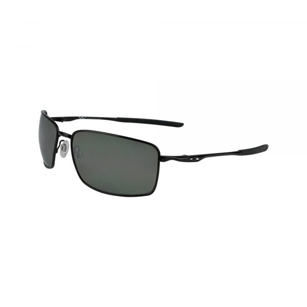 Square Wire 407513 Black Glasses - Side View