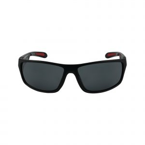 Cu6016 Black Glasses - Front View