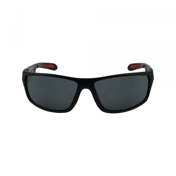 Cu6016 Black Glasses - Front View