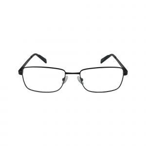 R716 Black Glasses - Front View