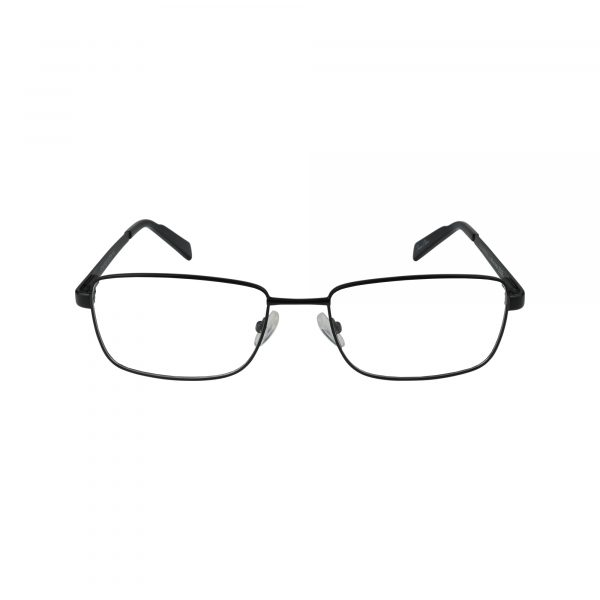 R716 Black Glasses - Front View