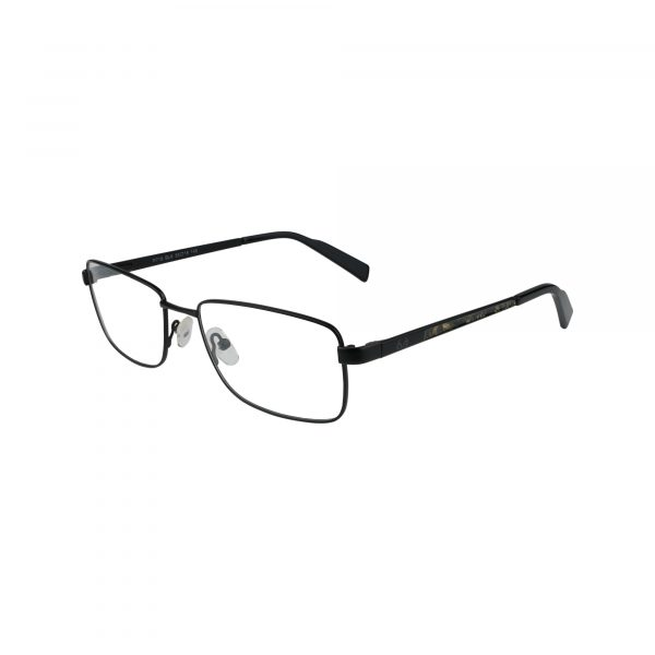 R716 Black Glasses - Side View