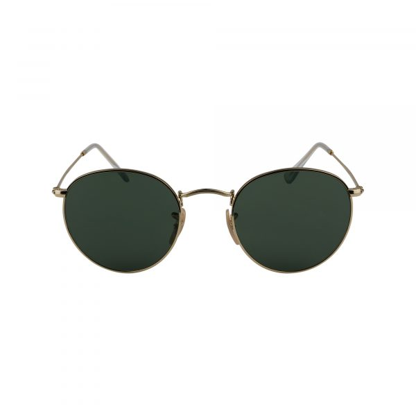 3447 Gold Glasses - Front View