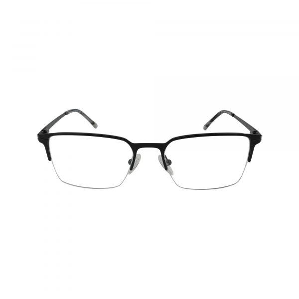 Denton Black Glasses - Front View