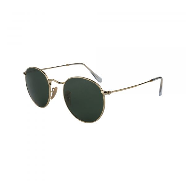 3447 Gold Glasses - Side View