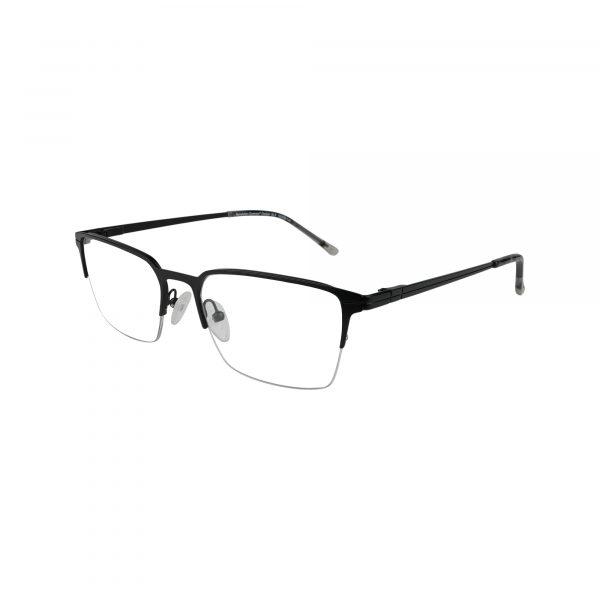 Denton Black Glasses - Side View