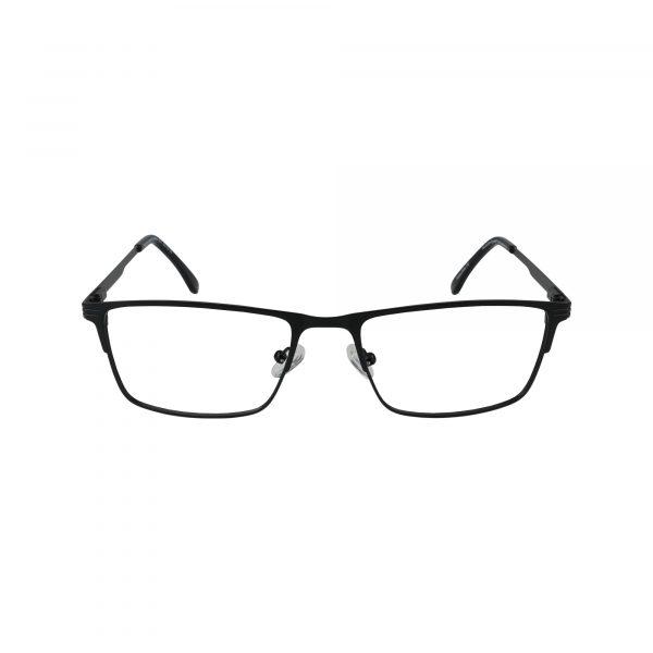 Lancaster Black Glasses - Front View