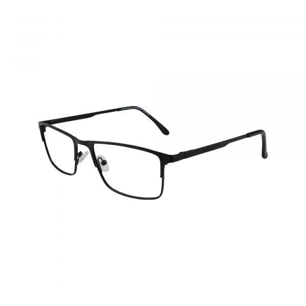 Lancaster Black Glasses - Side View