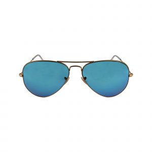 3025 Gold Glasses - Front View