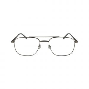 451 Gunmetal Glasses - Front View