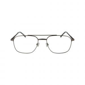451 Gunmetal Glasses - Front View