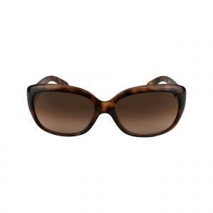 4101 Brown Glasses - Front View