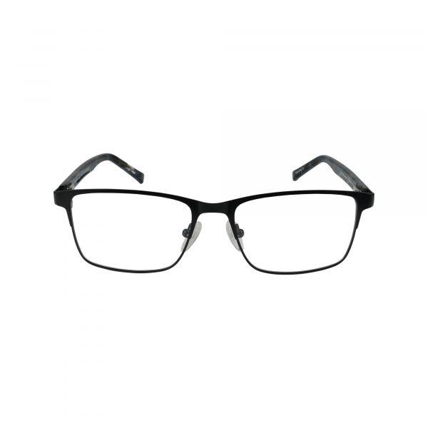 Shelton Black Glasses - Front View