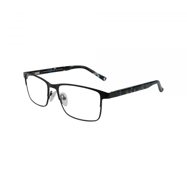 Shelton Black Glasses - Side View