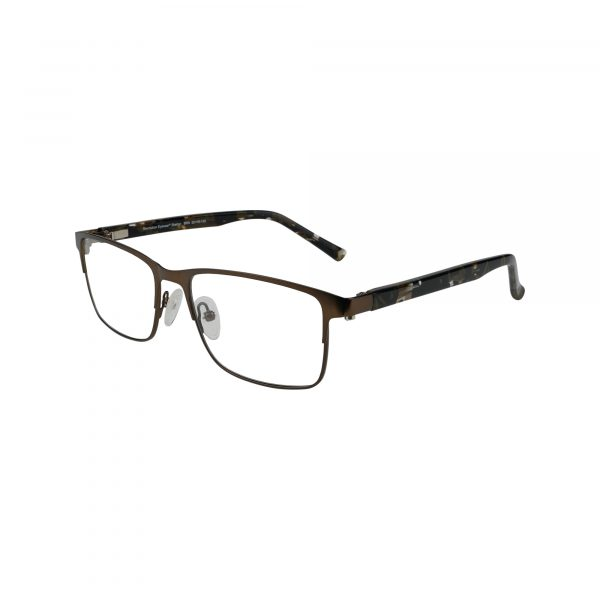 Shelton Brown Glasses - Side View