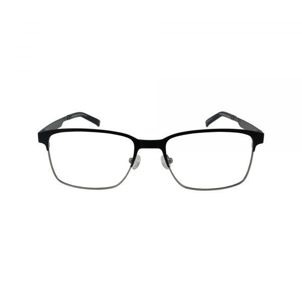 Lennox Black Glasses - Front View