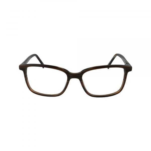 Brockton Brown Glasses - Front View
